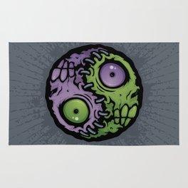 Zombie Yin-Yang Rug