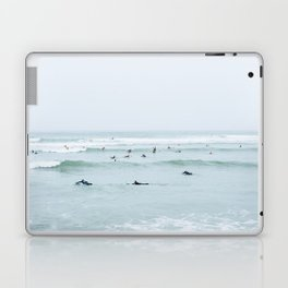 Tiny Surfers Lima, Peru Laptop & iPad Skin