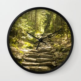 Along the Trail Wall Clock