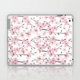 Watercolor cherry blossom Laptop & iPad Skin