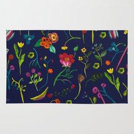 Floral love I pattern Rug