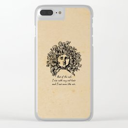 Sylvia Plath - Lady Lazarus Clear iPhone Case