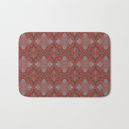 Sliced pomegranat Bath Mat