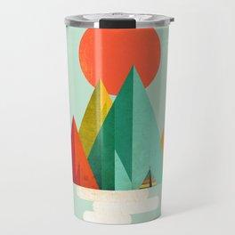 Little Geometric Tipi Travel Mug