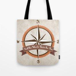 Bicycle Wind Rose Tote Bag