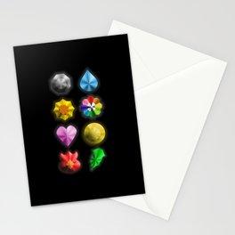Indigo League Badges Stationery Cards