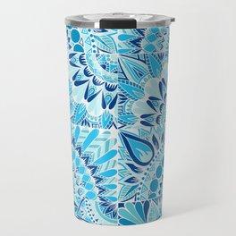 Inverted Ocean Mandalas Travel Mug