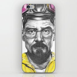 Walter White Breaking Bad iPhone Skin