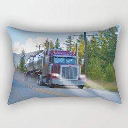 Trans Canada Trucker Rectangular Pillow
