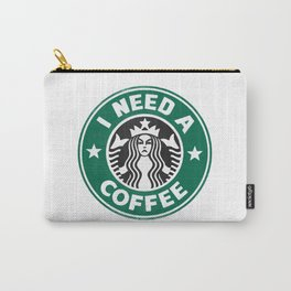I need a coffee! Carry-All Pouch