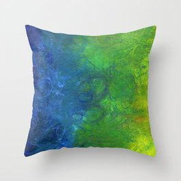 Chakra Rainbow Throw Pillow