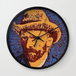 Vincent Van Gogh portrait Wall Clock