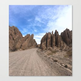 A drive on Route 68, Salta, Argentina Canvas Print