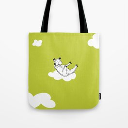 Flying Bear by McKenna Sanderson Tote Bag