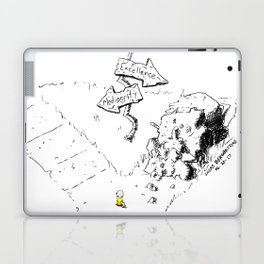 Excellence or Mediocrity Laptop & iPad Skin