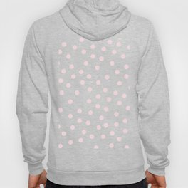 Simply Dots in Pink Flamingo Hoody