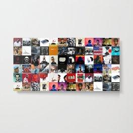 HIP-HOP ALBUM COVER Metal Print