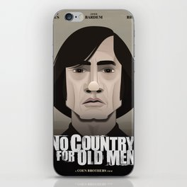 No Country for Old Men iPhone Skin
