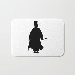 Jack the Ripper Silhouette Bath Mat