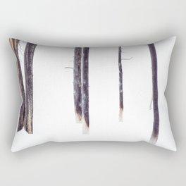 Bare Trees in Winter Rectangular Pillow