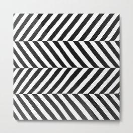 Stripe Graffika  Metal Print