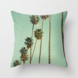 Vintage LA Throw Pillow