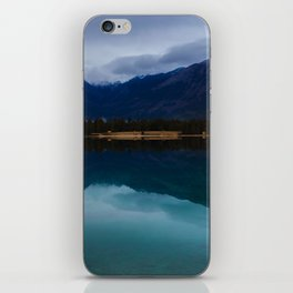 Mountain in the Mirror iPhone Skin