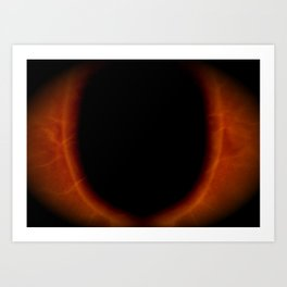 Saron's Eye  Art Print