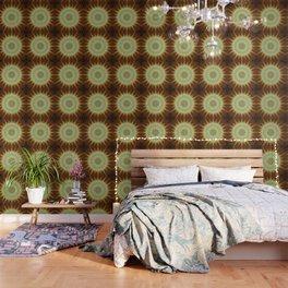 Fractal mandala sun Wallpaper