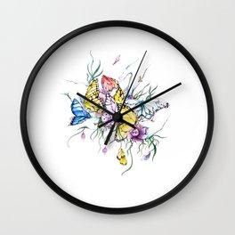 Agitation Wall Clock