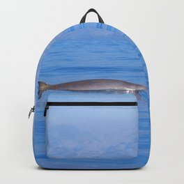 Beaked whale in the mist Backpack