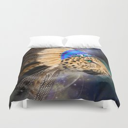 Fight For What You Love (Chief of Dreams: Leopard) Tribe Series Duvet Cover
