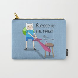 Blessed by the Priest Carry-All Pouch
