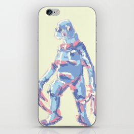 Pastel Slitheen Doctor Who iPhone Skin
