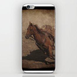 Break Away Rodeo Horse iPhone Skin