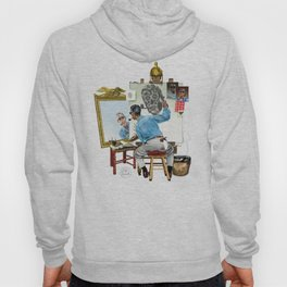 Chew Bubble Gum and Basterdize a Norman Rockwell Classic...and I'm All Out of Bubble Gum Hoody