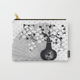 Stillleben Kirschblüten Carry-All Pouch