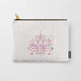Lotus Prism Carry-All Pouch