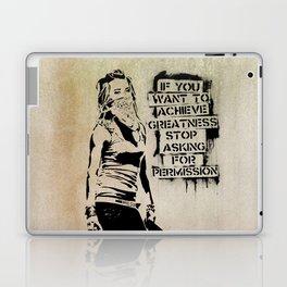 Banksy, Greatness Laptop & iPad Skin