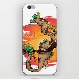 Hoard of Chameleons iPhone Skin