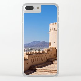 Nakhl Fort, Oman Clear iPhone Case