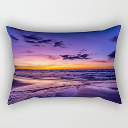 Sunset Beach Rectangular Pillow