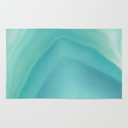 Geode Crystal Turquoise Rug