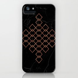 Copper & Marble iPhone Case