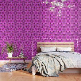 CVPA20099 Benny Guttorm Pink Snowflake Wallpaper
