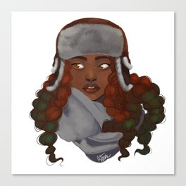 Braids Canvas Print