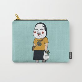 Joyful Girl Carry-All Pouch