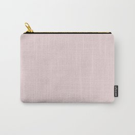 Solid Alice Pink in an English Country Garden Carry-All Pouch