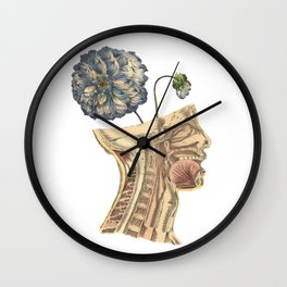 A Growing Mind Wall Clock