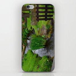 Garden river iPhone Skin
